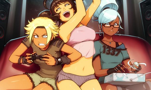 Girls Gaming in a Man's Digital World