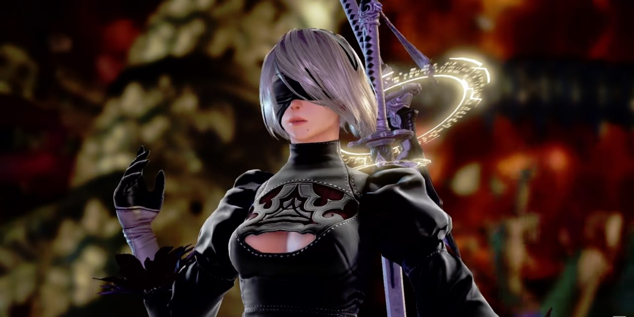 2B of NieR: Automata Revealed for Soul Calibur VI!