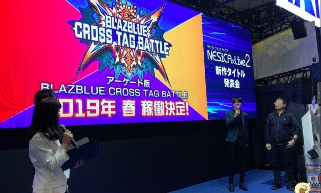 BlazBlue: Cross Tag Battle — Japan Arcade Announcement