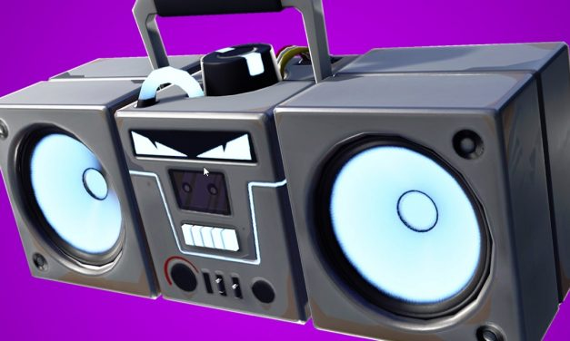 Fortnite: Battle Royale — Thoughts on the Boom Box