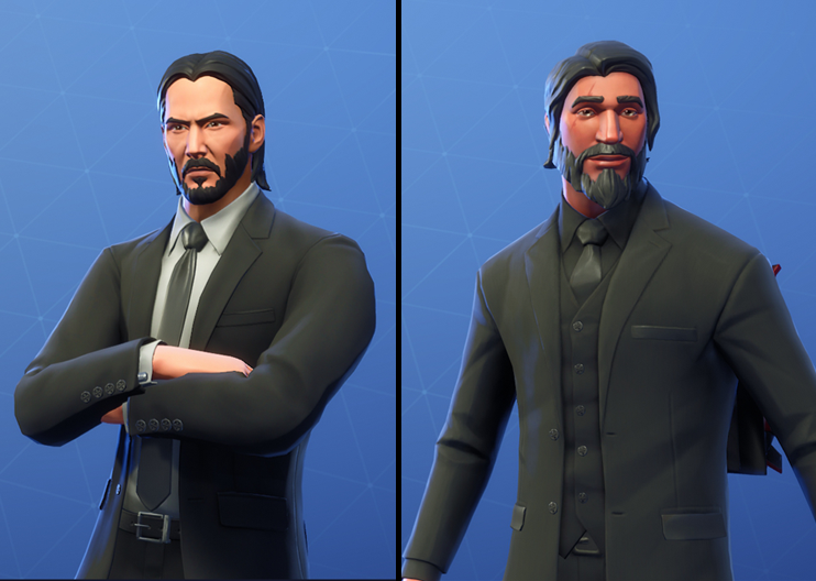 Fortnite:BR | Reaper Owners Mad About John Wick
