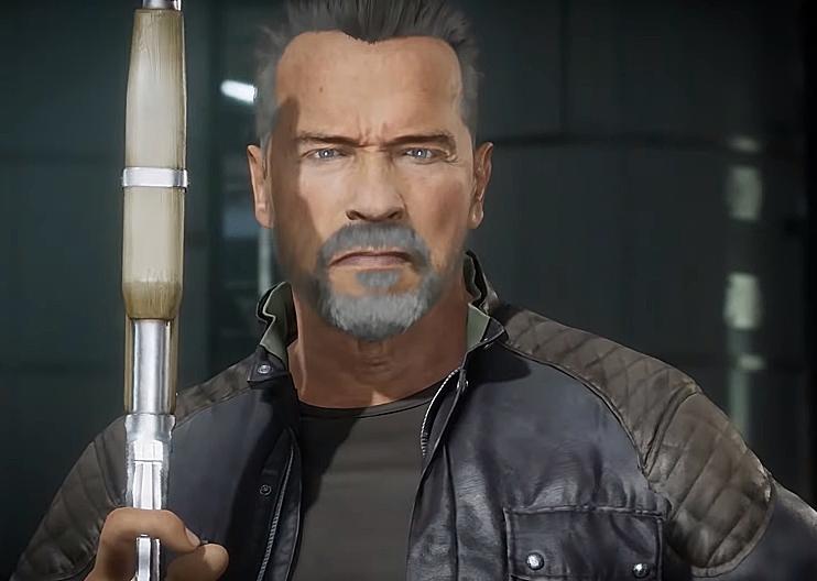 MK11 | Terminator T-800 Gameplay Trailer