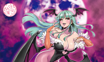 Morrigan & Felicia Receiving Bishoujo Statues